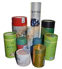 custom design tube box