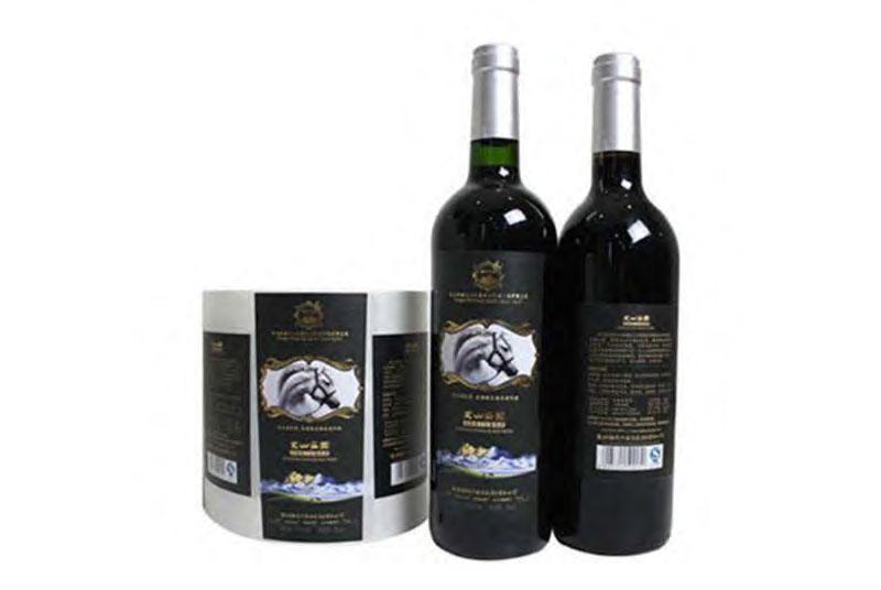 self adhesive labels for wine beer bottles