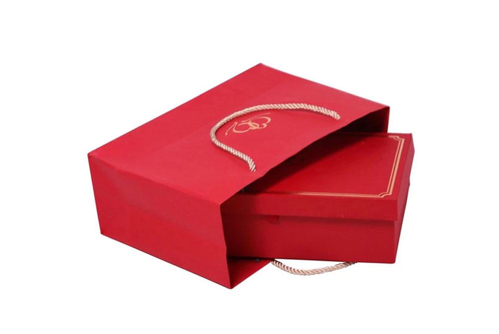 Luxury Wedding Invitation Box with bag