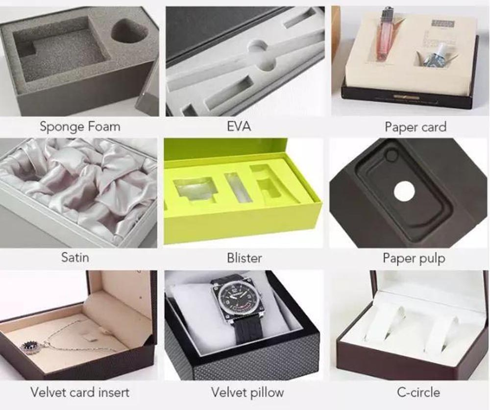 different box insert tray