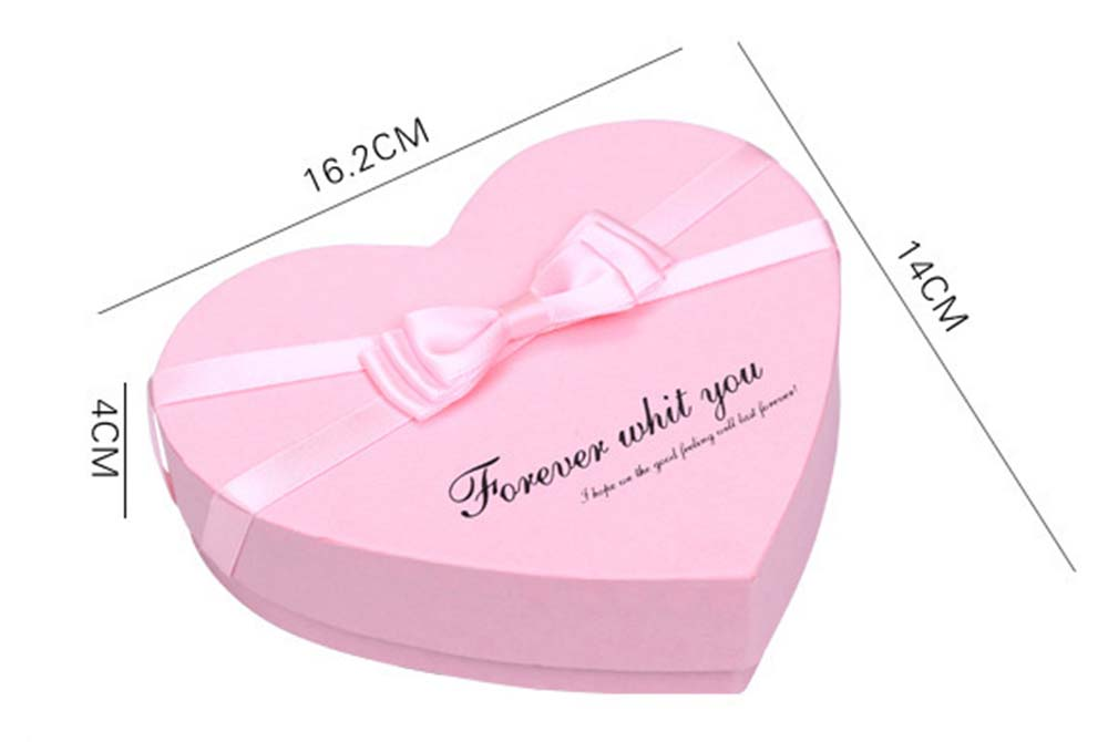 candy heart paper box