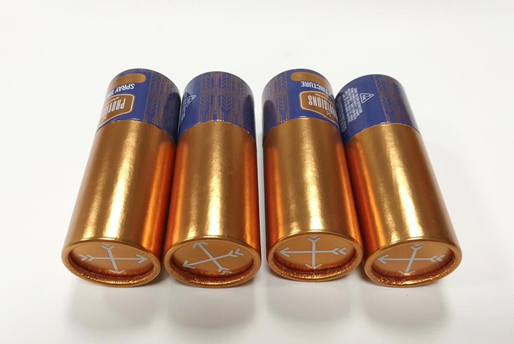 cosmetic paper tube