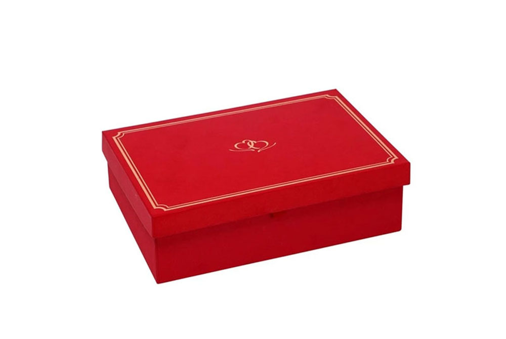 custom decorative cardboard packaging favor wedding gift box