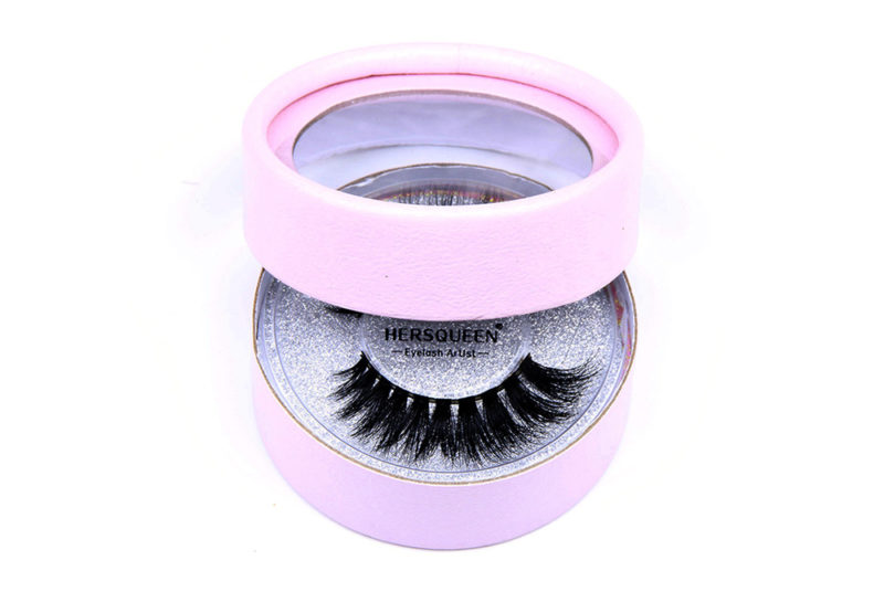 eyelash packaging tube box luxury