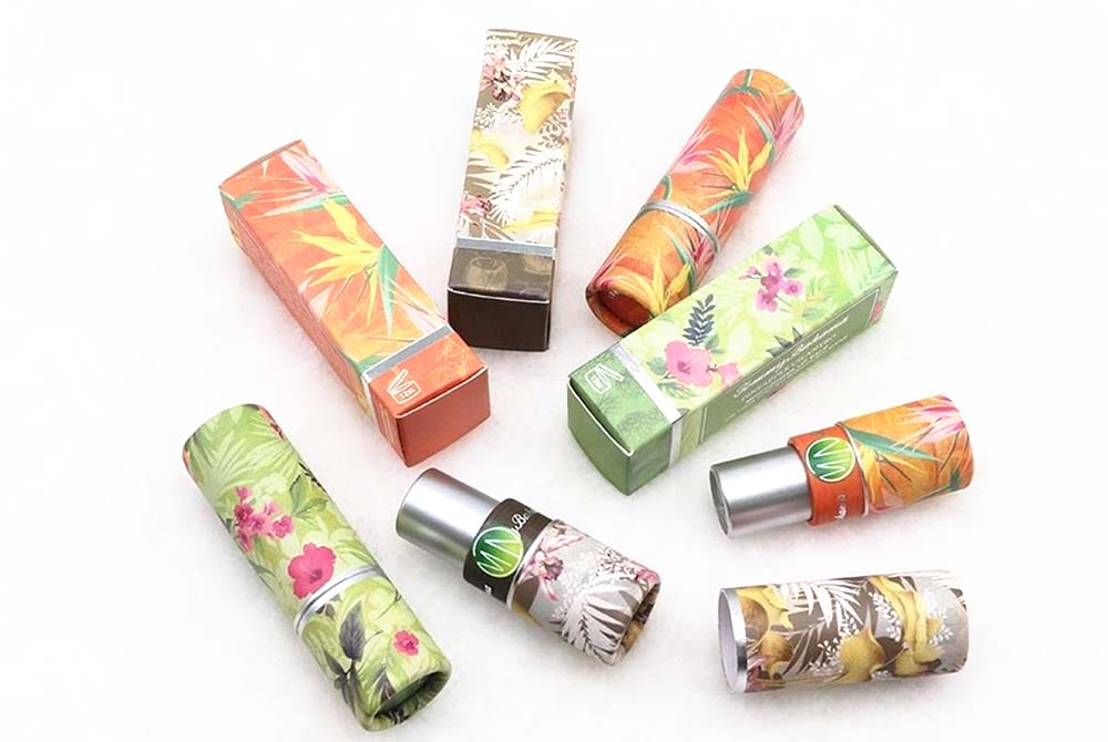 paperboard lip balm container