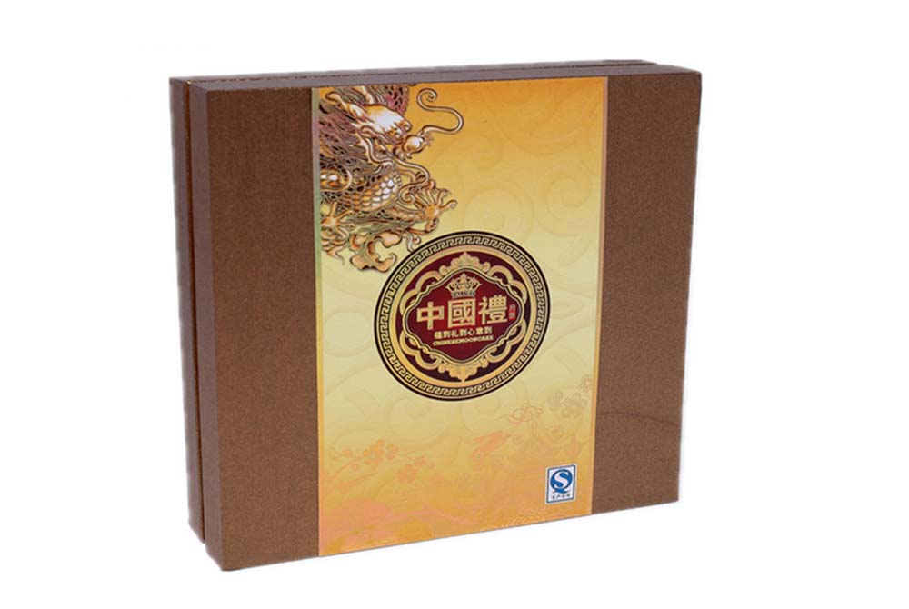 moon cake macaron packing box