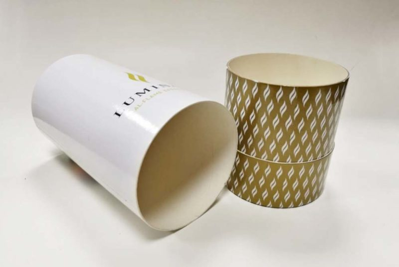 recycled cardboard tubes