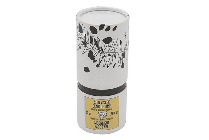 cylinder paper jar packaging perfume box