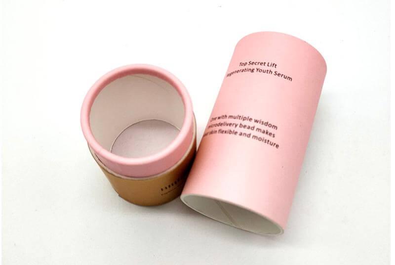 cardboard cosmetic packaging boxes tube