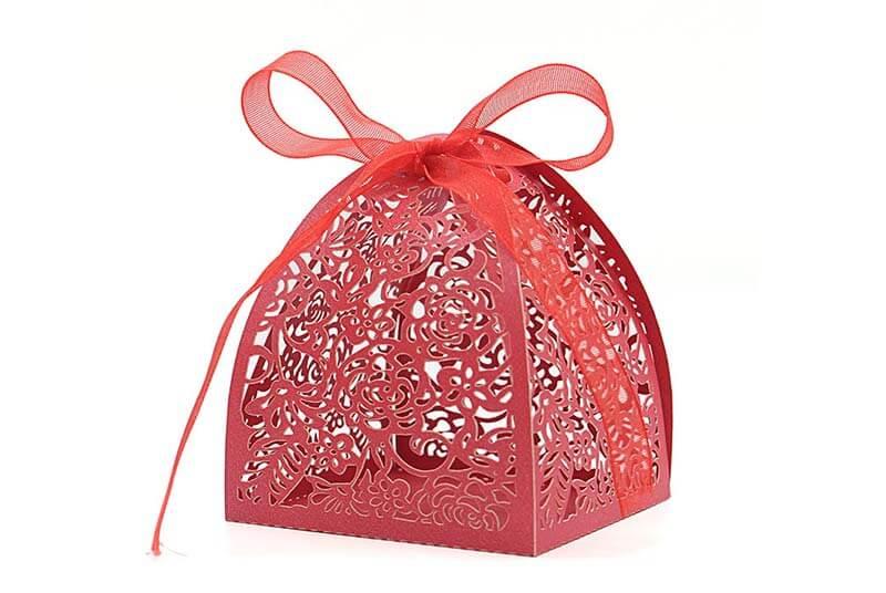 mini box for gift wedding