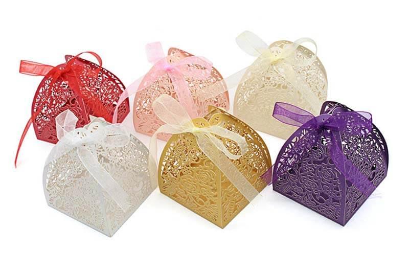gift box paper wedding