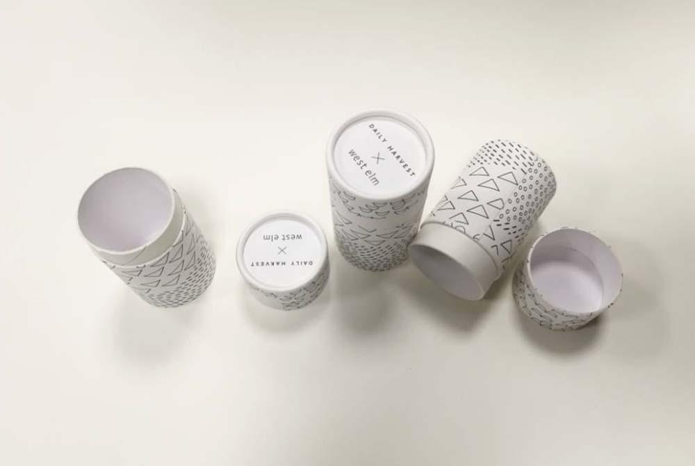 white tube packaging