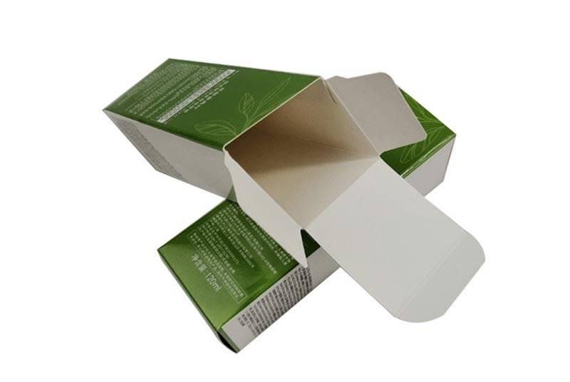custom printing card board packaging box