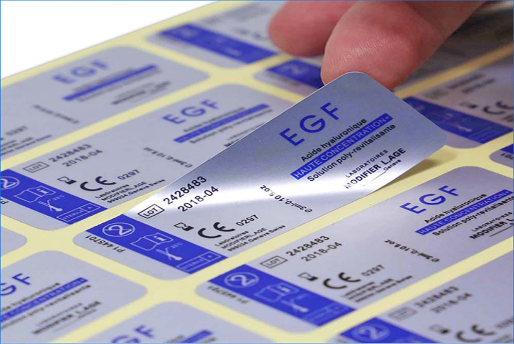 products labels and stickers for electronic products