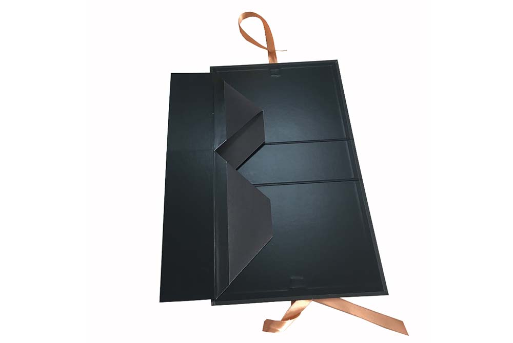 rigid paper board foldable box