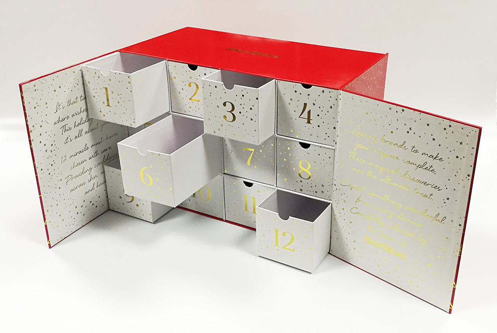 advent calendar gift box