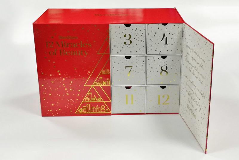 chocol advent calendar packag box