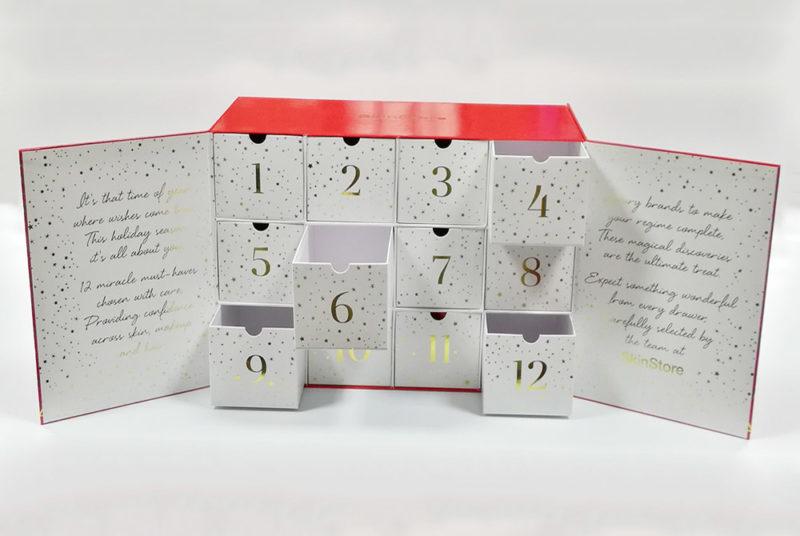 custom advent calendar box