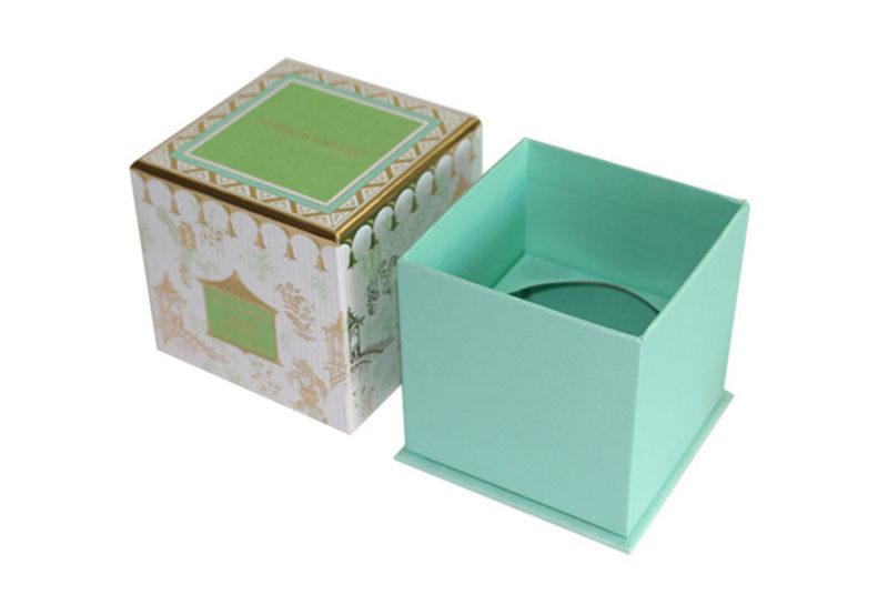 cardboard candle box