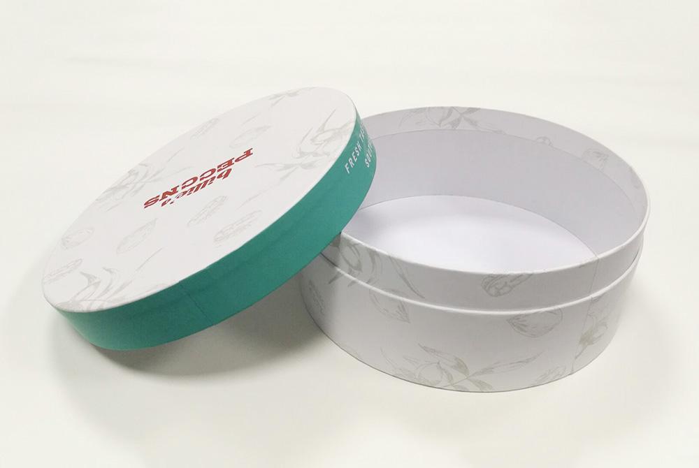 round food box paper
