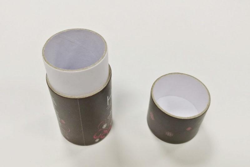 circle paper box lip tints packaging