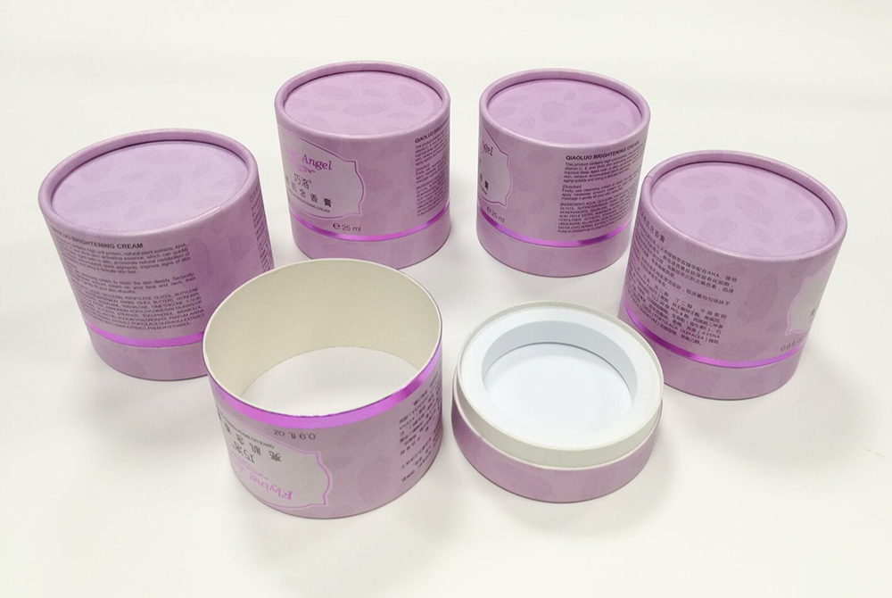 round cosmetic packaging box