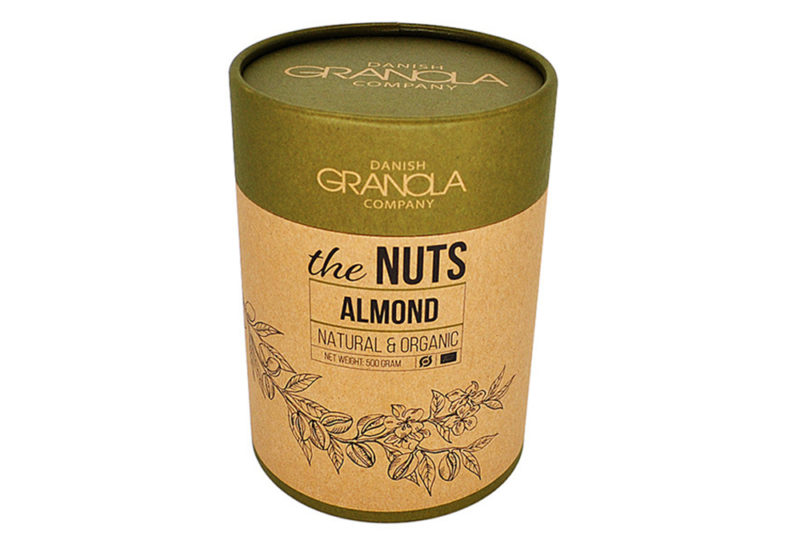 Food Grade Paper Can Nuts Packaging Round Box