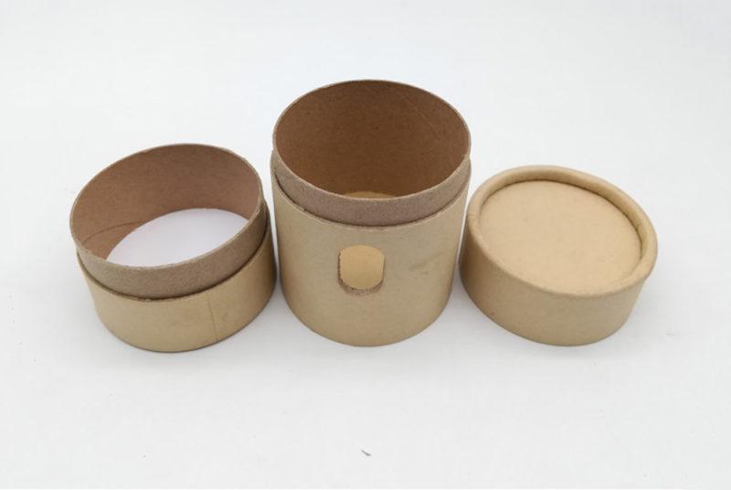 small cardboard tube box for wifi audio