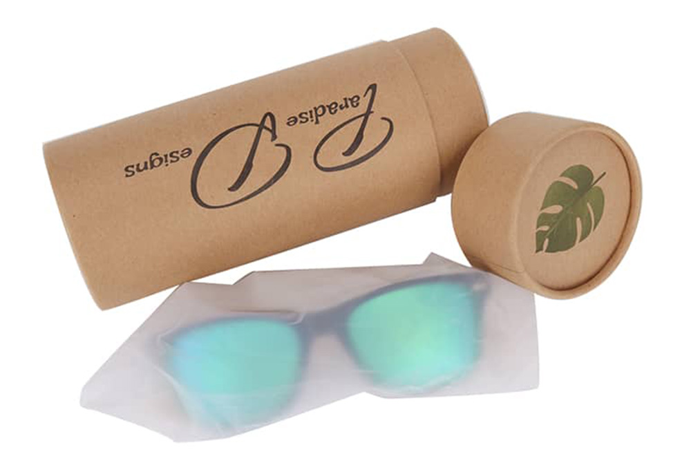 cylinder paper box for sunglasses