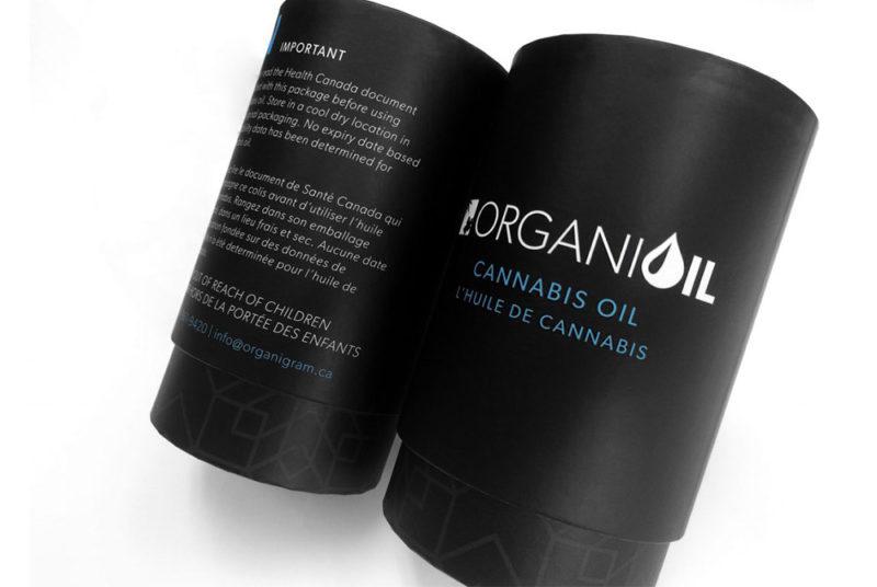 Paper jars for Cannabis sativa oil bottle