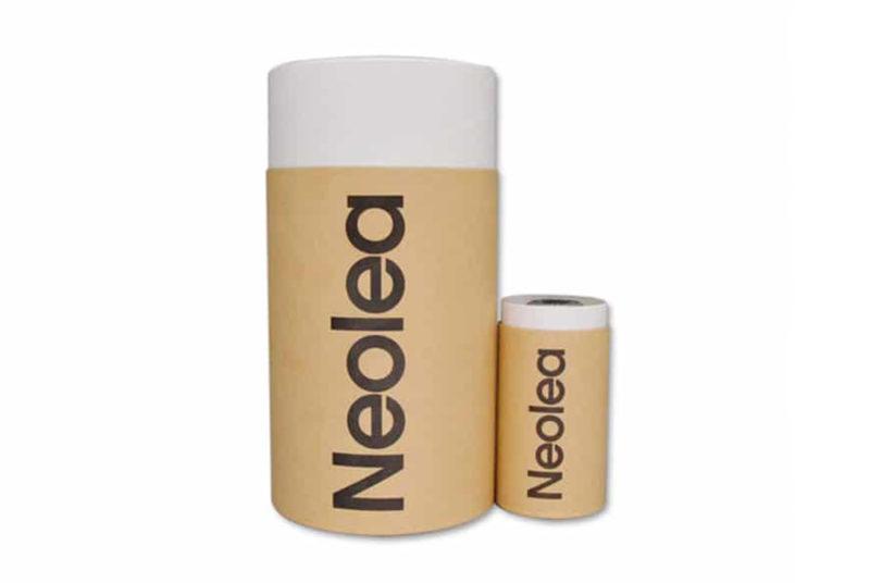 paper cylinder gift box for olive oil bottle