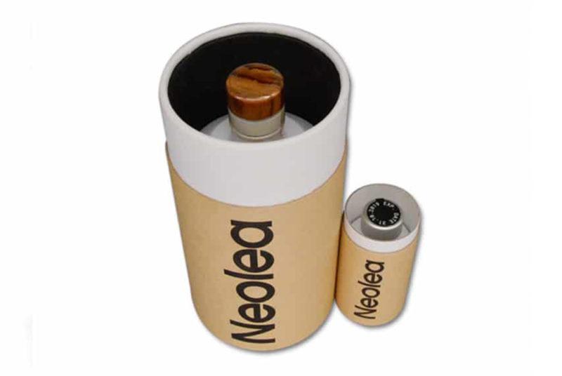 kraft paper olive oil packing box