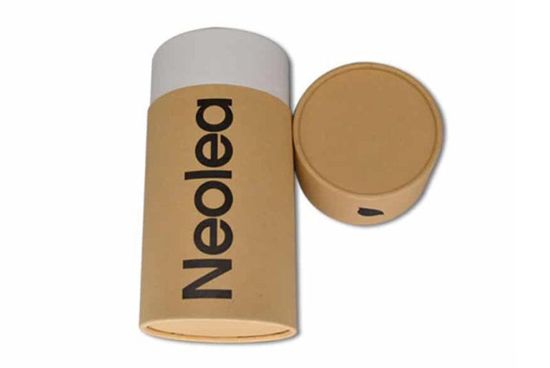 printed olive oil packaging box jar