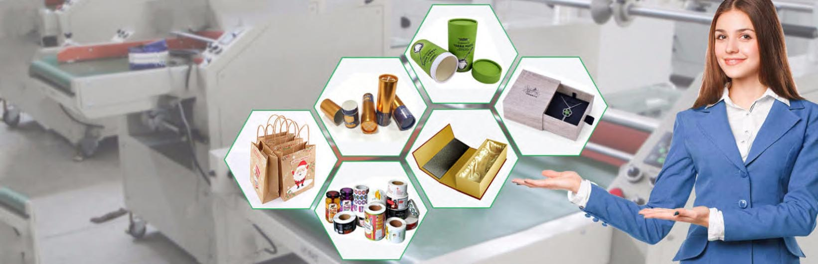 Major custom packaging company products show