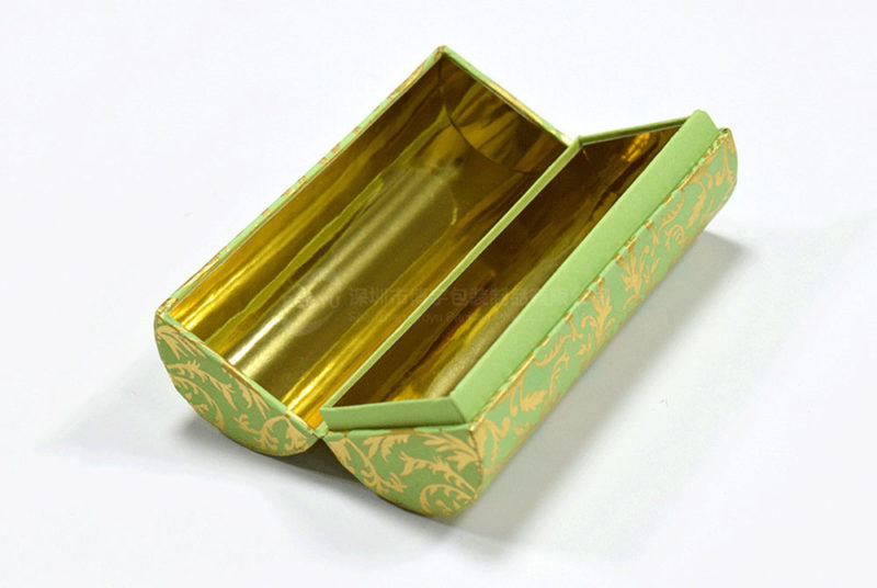 round double door package tube box