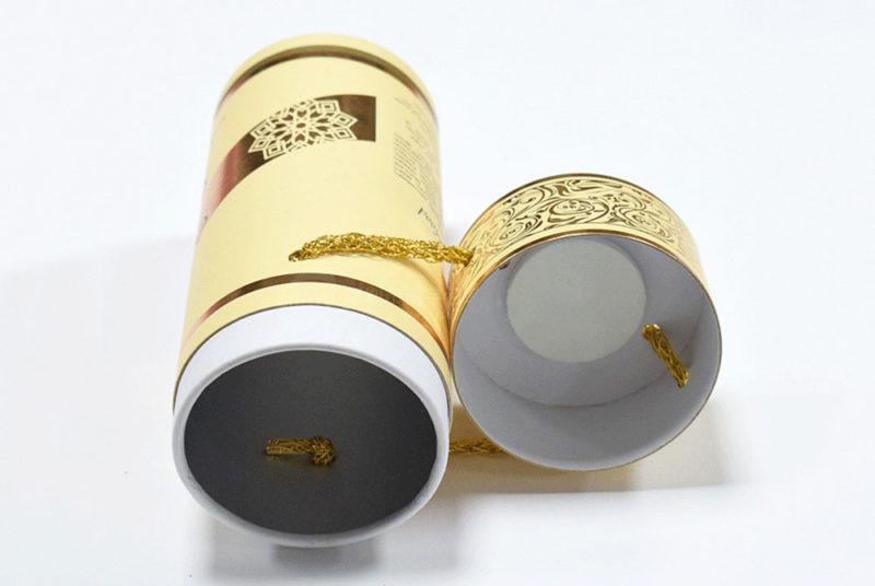 custom packaging box cylinder