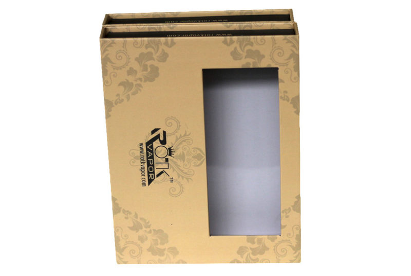 rigid magnetic box with clear window