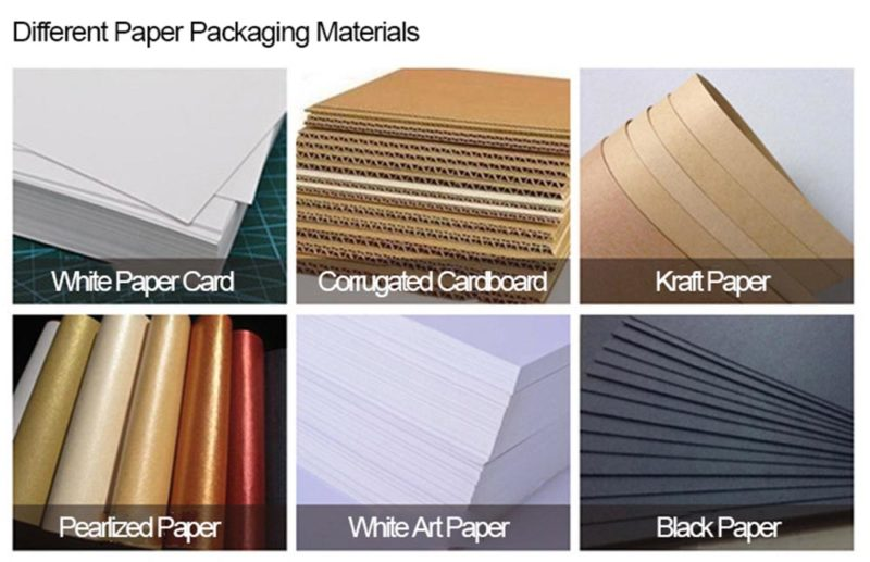 raw paper packaging material