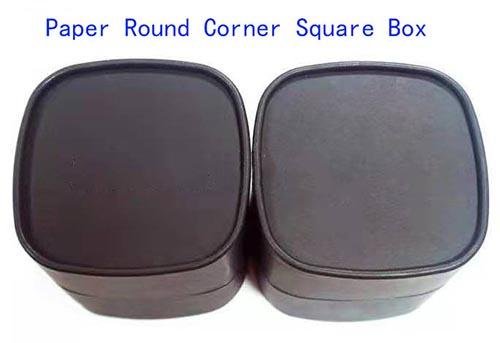 square shape round corner tubes