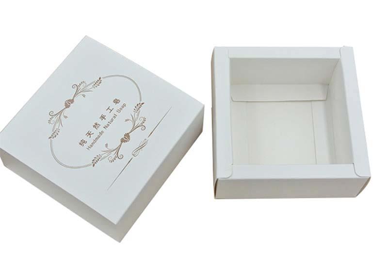 custom logo soap folding bath bombs box packaging