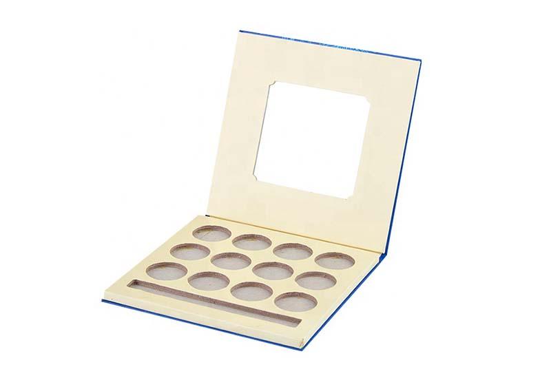 custom empty eyeshadow palette with mirror