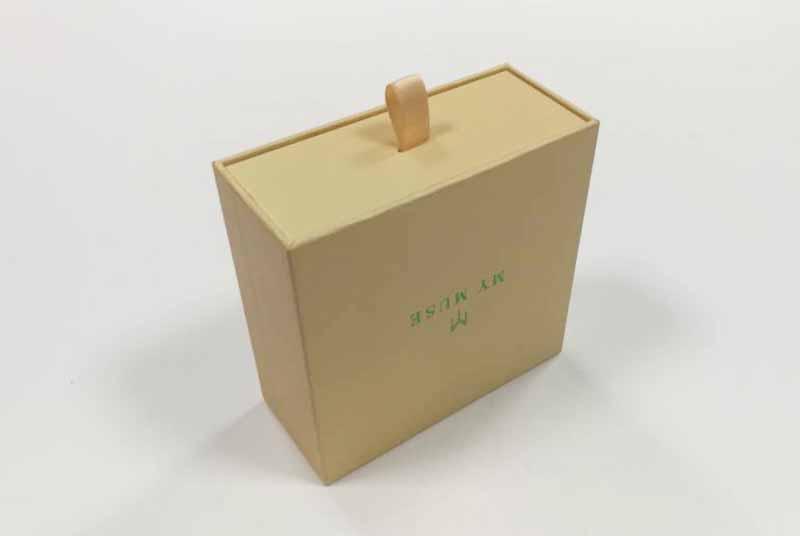 custom logo printed eco jewelry boxes