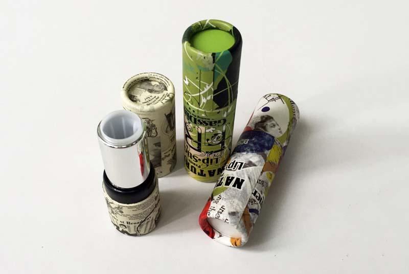 cardboard lip balm tube