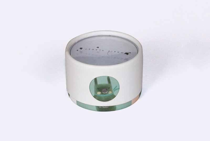 little paperboard usb cable speaker jar box