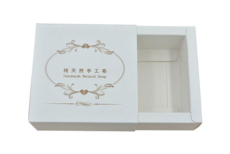 eco paper sleeve soaps packaging box