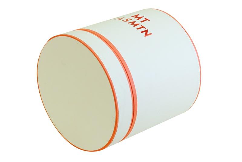 cosmetic round box white