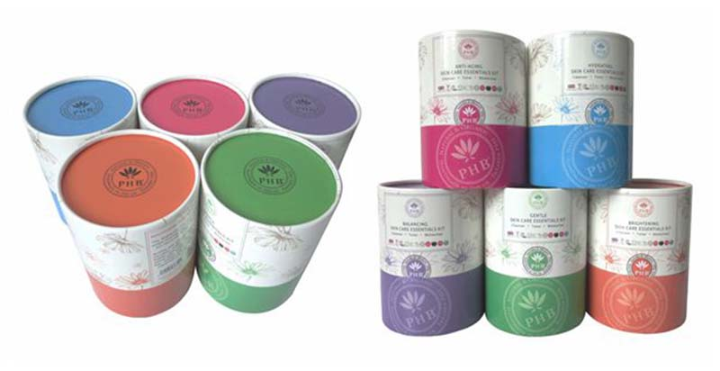 Serialization paper tubes packaging design