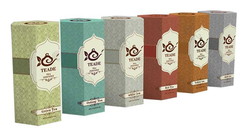 serialization tea packaging box design