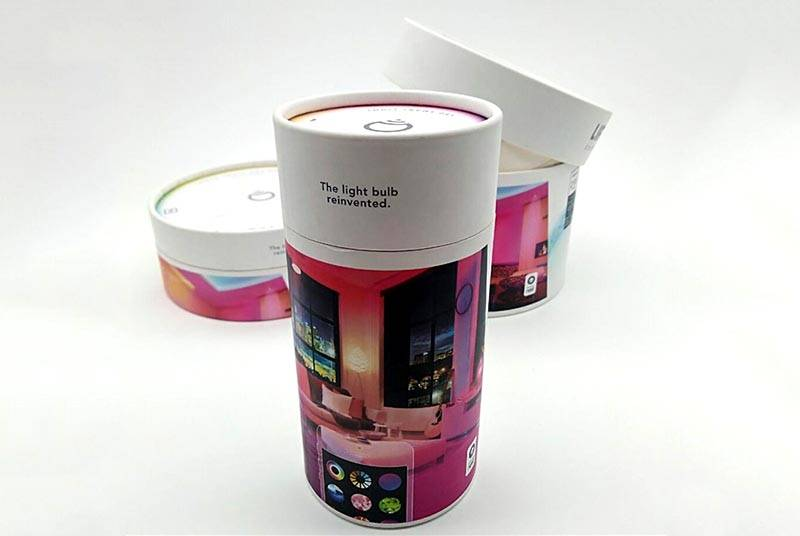 round packaging boxes for led string lights