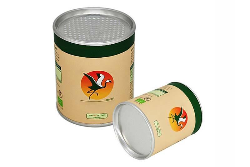 empty food tube packaging